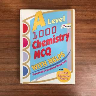A Level 1000 Chemistry MCQ