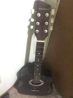 Mandaue Matte Black Guitar