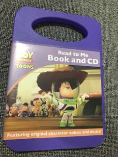Toy Story Book Plus CD (Read along)