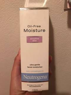 Neutrogena oil free sensitive moisturiser