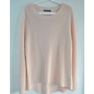Baby Pink Knit Sweater
