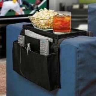 6 Pockets Sofa Handrail Couch Armrest Arm Rest Organizer