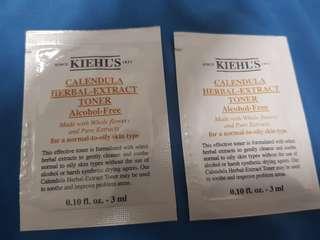 Kiehls | calendula herbal extract toner (alcohol free) 3ml x2