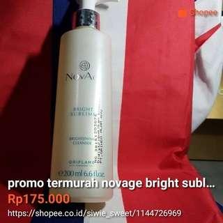 cleanser novage bright sublime free lipstik
