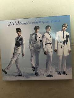 2am 韓星 Saint O'clock Special Edition DVD