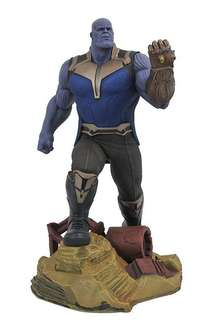 Marvel infinity war pvc statue thanos