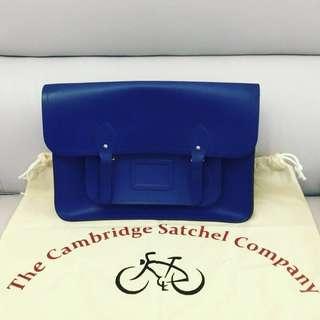 Cambridge Satchel Blue