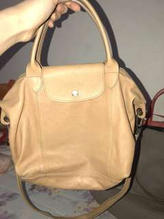 Longchamp Le pliage cuir small