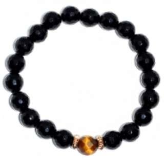 Tiger Eye 8.5MM Single Stone Bracelet RM185