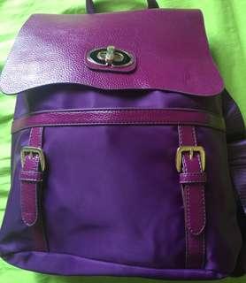 Lovely Purple Backpack