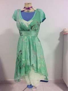 Coast Couture 100% silk dress
