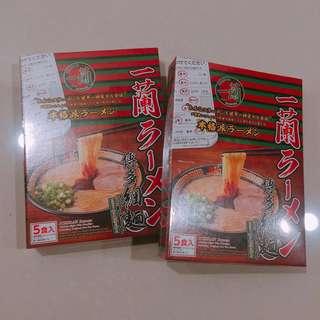 🚚 🇯🇵一蘭拉麵 🇯🇵現貨 剩2盒