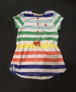 EUC Baby Pony Basics Multicolored Dress