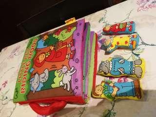 Little red ridding hood cloth book