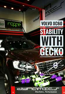 Volvo XC60 : GECKO Racing Performance Coilover
