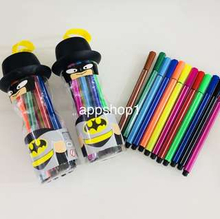 Color pen (black) goody bags gift, children birthday goodies favors, goodie bag packages for kids party 🎉