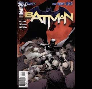 BATMAN Comics (2011) The New 52!