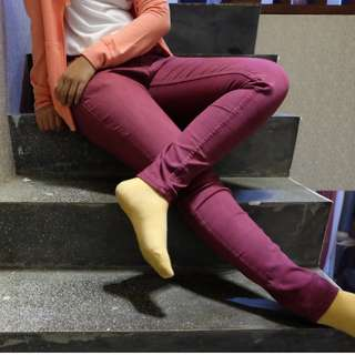 maroon jeans by nevada