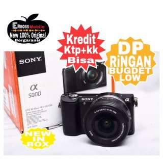 Sony Alpha A5000 Kit 16-50mm Resmi Dikredit Dp 800rb Wa;081905288895