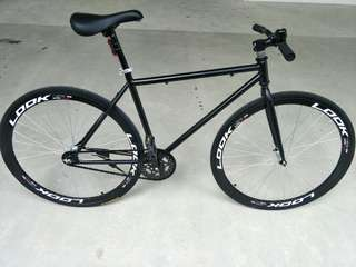 "Brand New Look Fixie ""26 Inch Tires"""