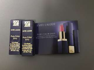 Estée Lauder oil infused lipstick #220power pout
