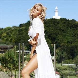 🔺BN🔺Laced Beach Bikini Coverup Outerwear