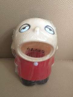 ** 分享 ** Sanrio Minna No Tabo 大口仔 1988 年 半睡眼人形儲金箱 (Made in Japan)