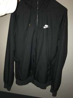 Men's Charcoal Nike Windbreaker Jacket