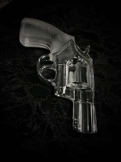 ROYALES DE CHAMPAGNE Colt P38 Crystal Gun DETECTIVE SPECIAL P-38