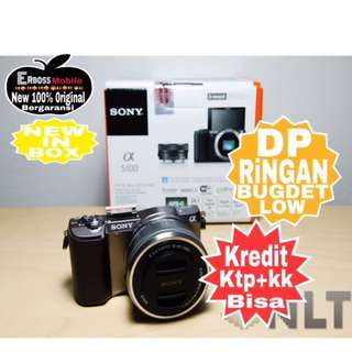 Sony Alpha A5100 Kit 16-50mm Resmi Dikredit Dp 1jt Wa;081905288895