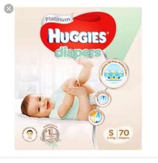 Huggies Platium Diapers