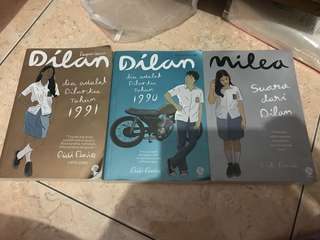 Paket novel dilan original