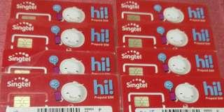 Buy Singtel Pre Registered Prepaid Sim Card