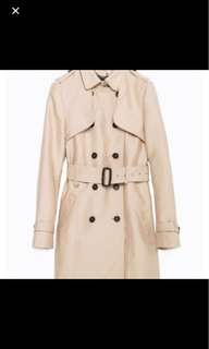 (Worn once only!) ZARA Trench Coat