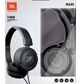 JBL T-450 HEADPHONES