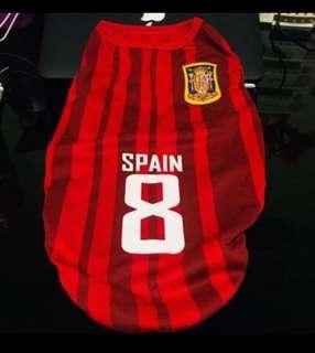 Dog Shirt (Spain Jersey No. 8)