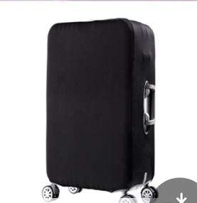 Luggage cover protector - 25inch (black)