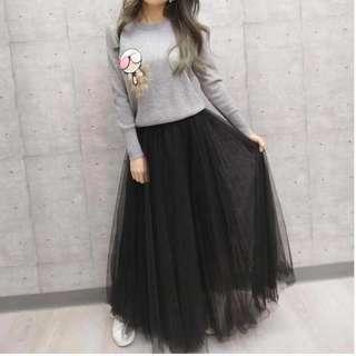絕美高級造型紗裙(購自藝人品牌,近4折價)