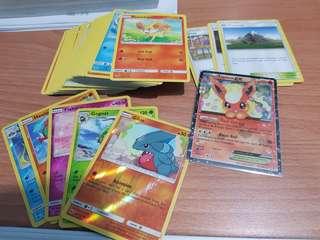 Pokemon 100 Cards bulk sets