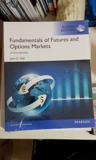 *BRAND NEW* Murdoch Textbook - Fundamentals of Futures and Options Markets