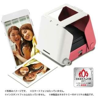 🚚 Printoss 手機相片列印機 ( 天空藍、櫻花紅 )