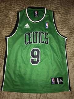 Fake Boston Celtics Throwback Rajon Rondo Jersey