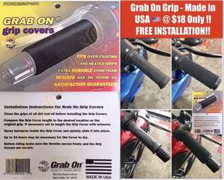 Grab On Grips - Made In USA 🇺🇸 .. FREE INSTALLATION!! Not grip puppies