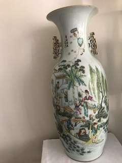 A Fine Porcelain vase H-57.7cm