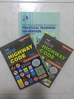 Driving Theory Books (All 3!)
