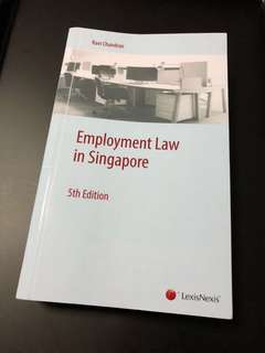 Employment Law in Singapore (5th Edition)