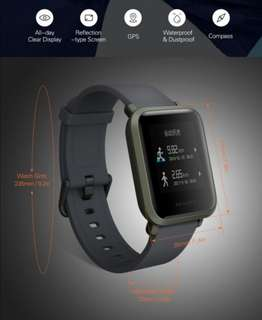 Xiaomi Amazfit BIP Smart Watch (International)