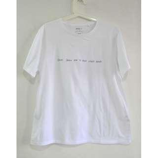 Uniqlo White Tshirt