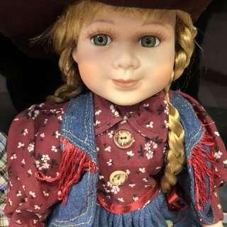 🚚 歐洲陶瓷娃娃