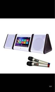 Portable KTV System with Microphones